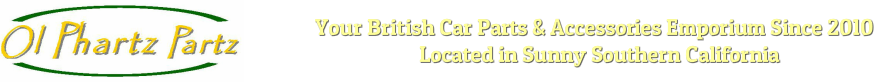 Ol Phartz Partz British Car Parts And Accessories Emporium since 2010